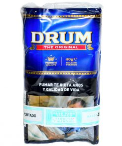 tabaco drum 40gr precio mayorista