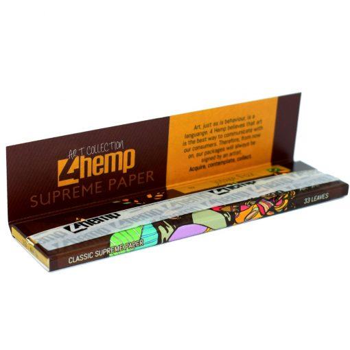 papel 4hemp brown king size tabaqueria venta online