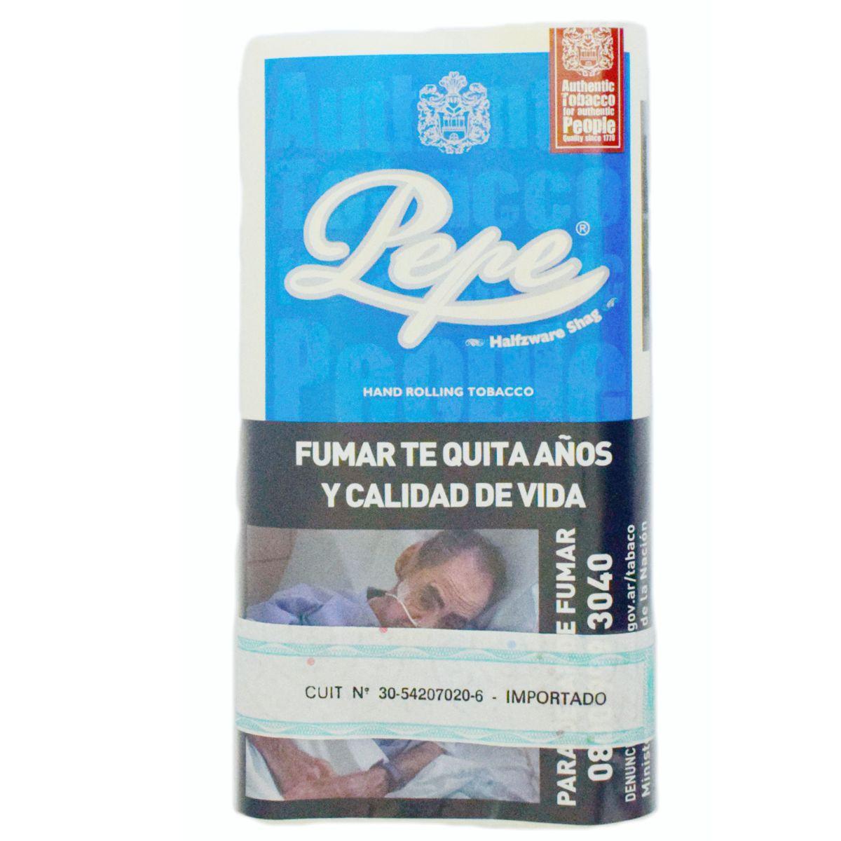 tabaco pepe halfzware shag venta