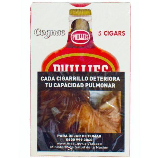 cigarros phillies blunt cognac