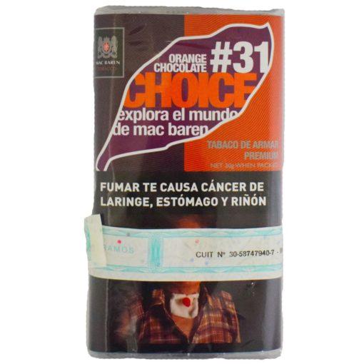 tabaco macbaren chioce precios