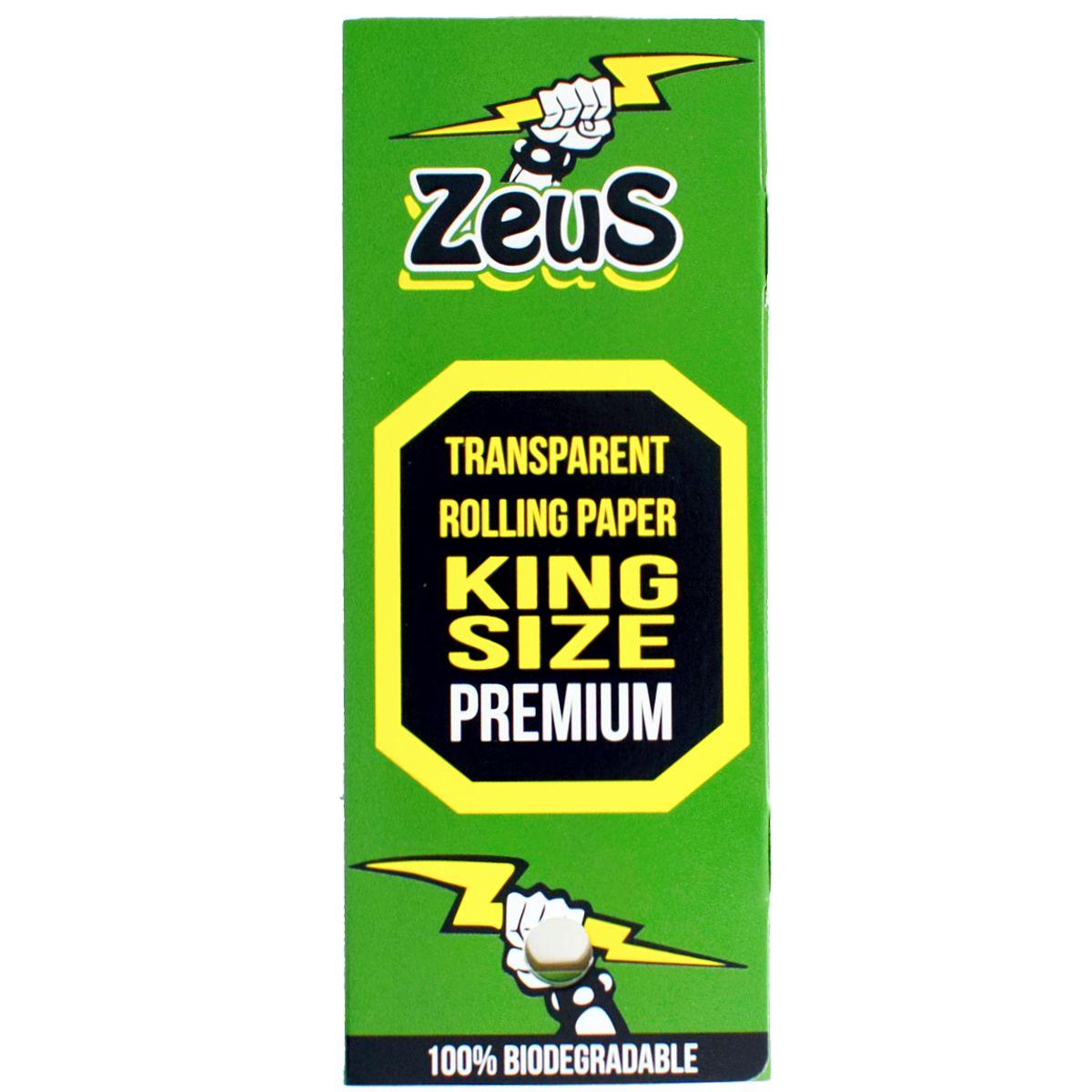 papel celulosa zeus king size venta grow shop