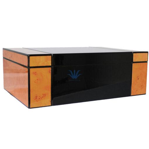 humidor madera bicolor 50 cigarros venta online